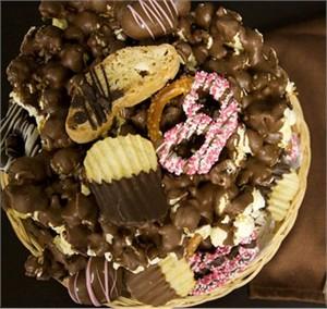 Chocolate Dessert Tray