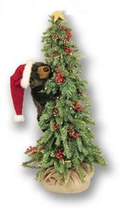 Ditz Designs 70124 Christmas Tree Bear