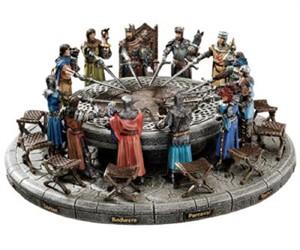 King Arthur and Round Table Garden Statuary