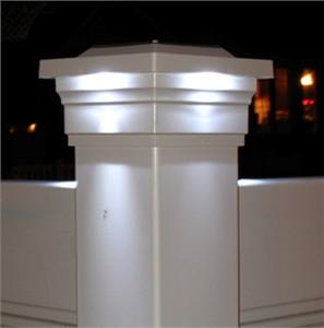 Classy Cap Low Profile Solar Post Cap