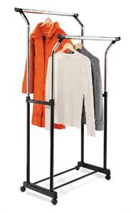 Double Rod Coat  Rack