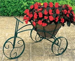 CobraCo TRCFP-B Tricycle Flower Planter