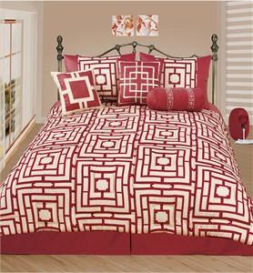 Cotton Sateen Comforter Set