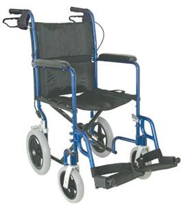 Folding Transport Chair Lightweight Wheelchair