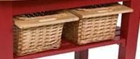 John Boos DWB8156 Wicker Basket
