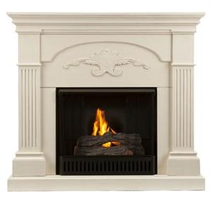 Holly & Martin 37-213-031-6-18 Salerno Gel Fireplace Ivory