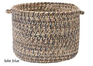 Corsica Braided Rug Basket