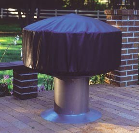 Cover for full-size Madison firepit