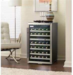 Danby DWC114BLSDD 38 Bottle Free Standing Wine Cooler
