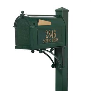 Whitehall Superior Personalized Mailbox