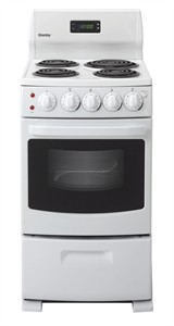 Danby DER2099W compact electric stove and oven