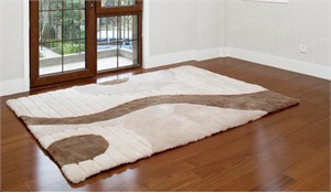 Shearling Design Rug Earth