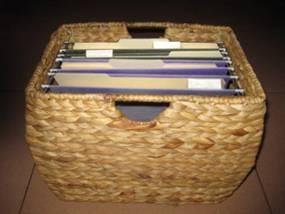 Pangaea SND-505FBSKT-LN Seagrass Filing Basket