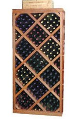 Wine Cellar Innovations Diamond Bin with Face Trim