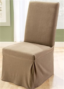 Surefit Stretch Pique Dining Chair Slipcover
