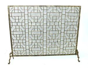DLIP DLFS113MSHLBG Geometric Fireplace Screen