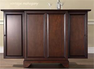 Crosley KF40001B LaFayette Bar Cabinet