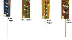 Garden Drill Bits
