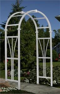 Arch Top Dublin Garden Arbor