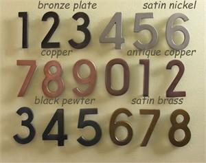 Ecco E4N House Numeral