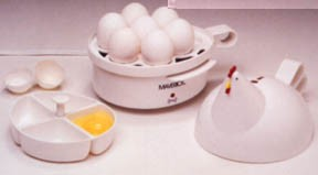 Egg Cooker : Automatic Henrietta Hen