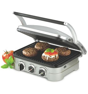 Cuisinart Griddler GR-4N : Contact Grill & Panini Press
