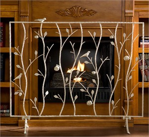 Holly & Martin 37-255-027-5-14 Willow Fireplace Screen