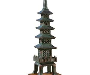 Nara Temple Asian Garden Pagoda Statue