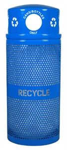 Ex-Cell RC-34R DM CANS RBL 34 gal Recycle Bin