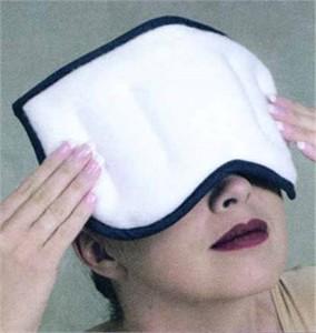 Therabeads Moist Heat Sinus Compress