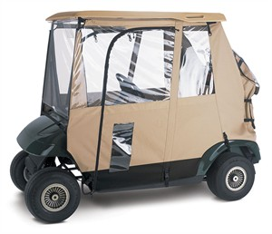 Fairway 72092 Deluxe 3 Sided Golf Cart Enclosure