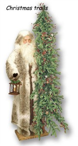 Ditz Designs 10716 Holiday Father Christmas with 6' Tree