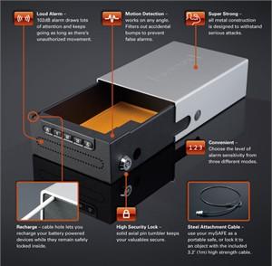 MySafe SS-PER-ENG SmartSafe Personal Safe