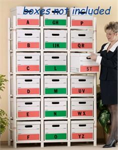 File Box Organizer