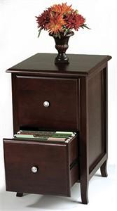 Merlot Letter Size File Cabinet
