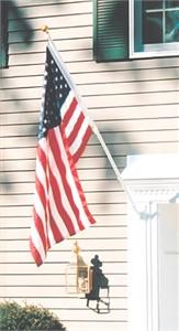 TopFlight American Flag with 6' Flagpole