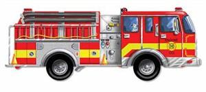 Melissa & Doug 436 Giant Fire Truck Floor Puzzle