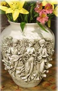 Angel Choir Flower Pot