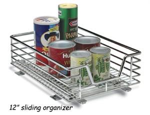 """Design Trend C1217-1 / C1221-1 Under Cabinet 12"""" Organizer"""