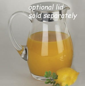 Glass Fruit Juice Pitcher