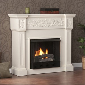 Holly & Martin 37-131-031-6-18 Gel Fireplace with Mantel