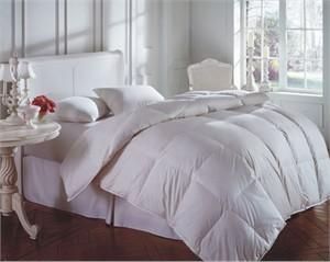 Cascada White Goose Down Queen Comforter