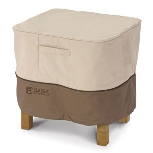 Classic Accessories Ottoman Cover / Side Table Cover