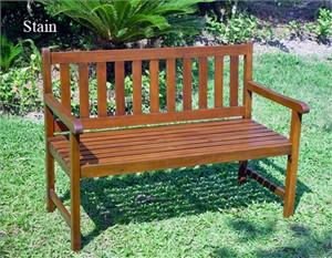 Acacia Wood Garden Bench