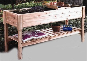 Garden Center with Potting Tray