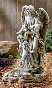 Joseph's Studio 47446 Guardian Angel Garden Statue