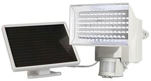 Maxsa 40225 Solar Powered 80 LED Floodlight