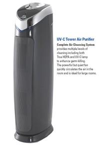 Germ Guardian AC5000B UV-C Tower Air Purifier