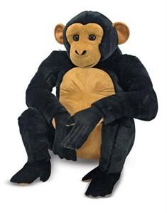 Oversized Chimpanzee Stuffed Animal