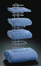 Wall Mount Guest Towel Holder